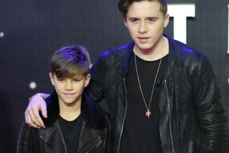 Brooklyn y Romeo Beckham