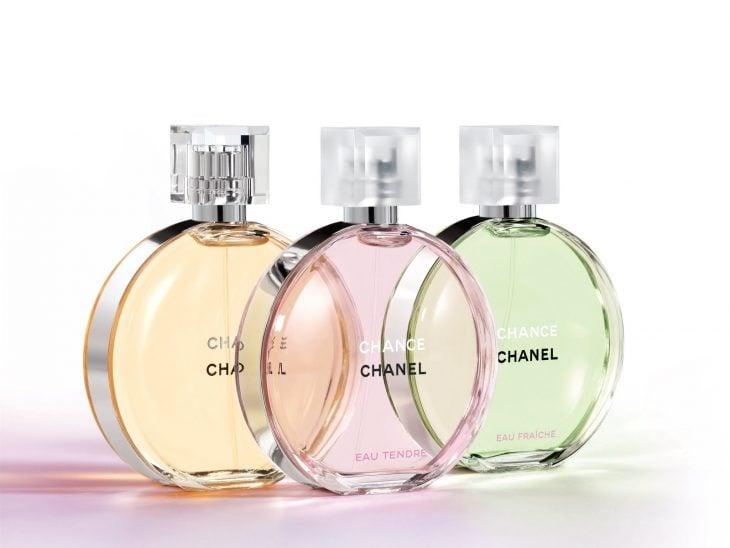 Perfume de Chanel.
