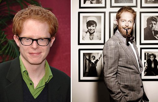 Jesse Tyler Ferguson before and after.