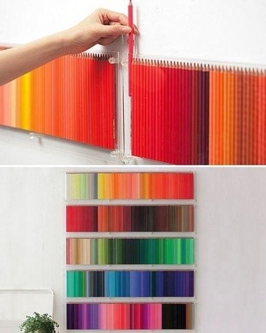 Colores organizados.