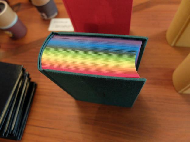 Libro de arcoíris.