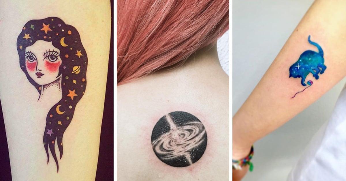 20 Tatuajes que te llevan al infinito y más allá