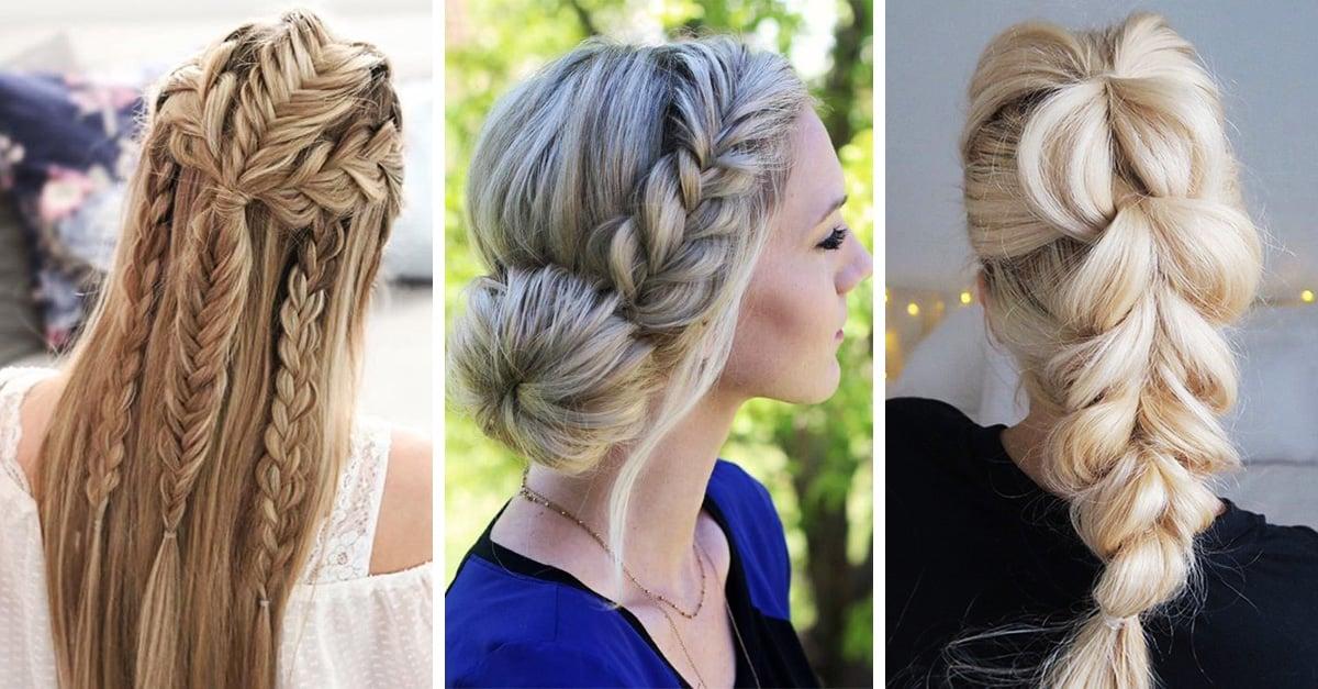 15 peinados con trenzas espectaculares para lucir esta Navidad