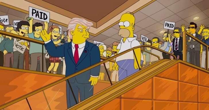 Capítulo de Los Simpson.