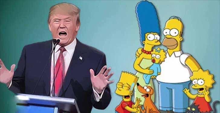 Trump y la familia amarilla.