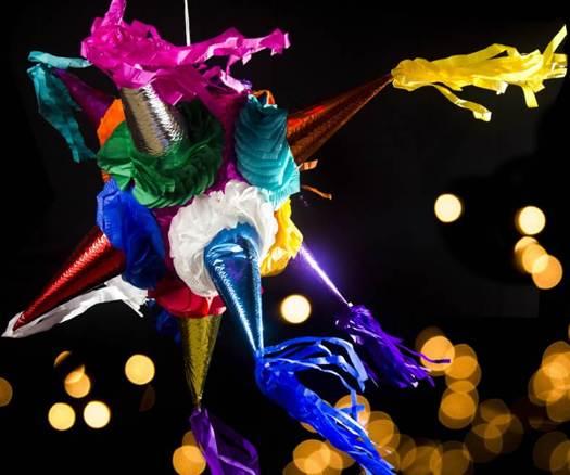 Piñata tradicional mexicana