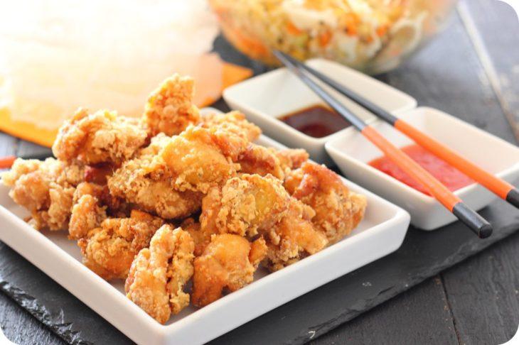 Pollo frito como cena navideña en japón