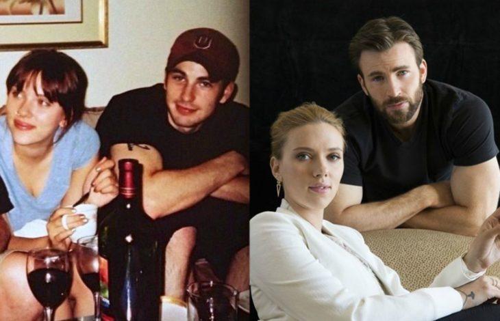 hombre y mujer blancos antes y después