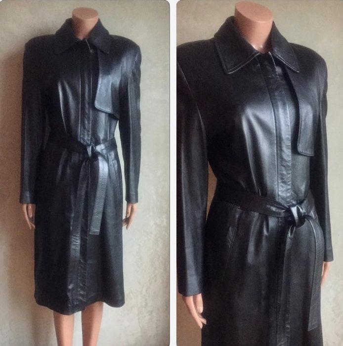 maniqui con abrigo grande de piel