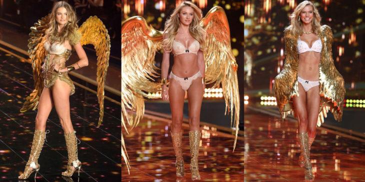 Candice Swanepoel y Behati Prinsloo modelos de victoria secret