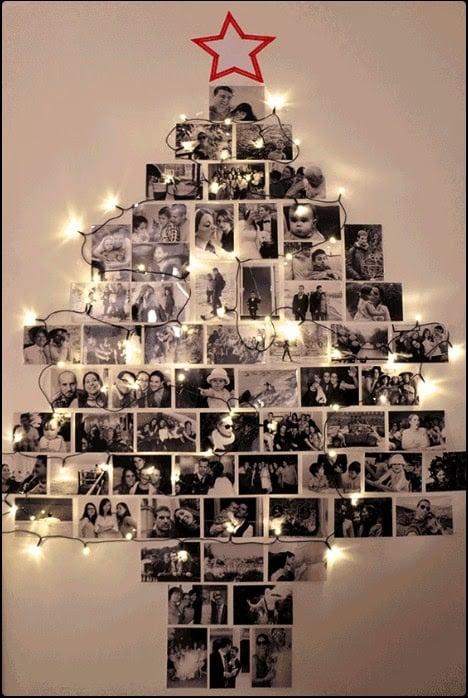 árbol que puedes hacer en 15 minutos con fotografías