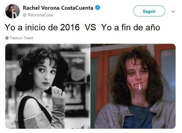 Winona Ryder usando overol de mezclilla, flequillo y cabello corto en los noventa