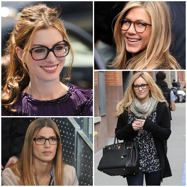 famosas con lentes