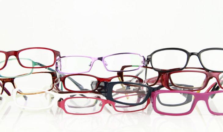 colección de anteojos lindos