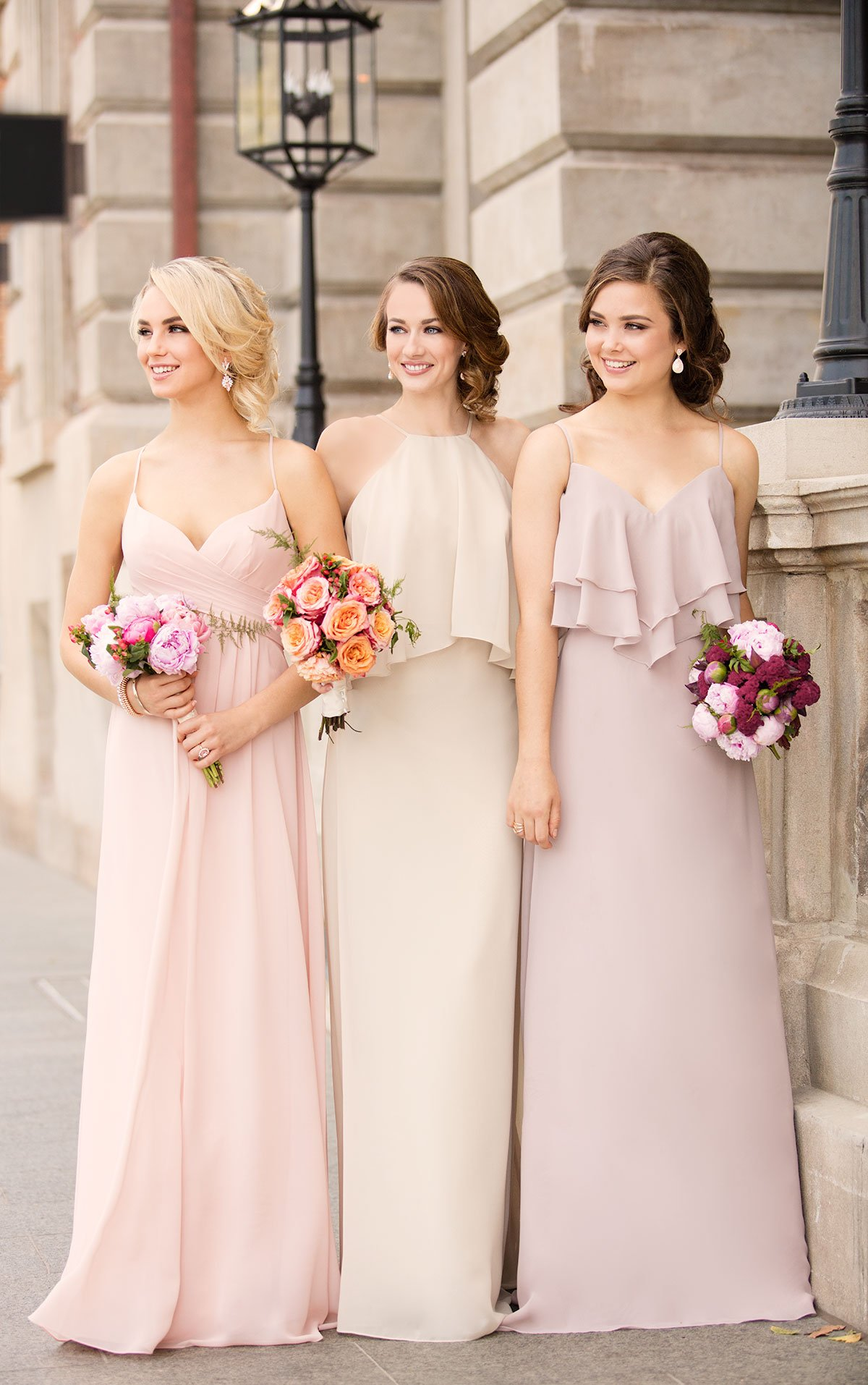 Vestidos para damas de honor hermosos