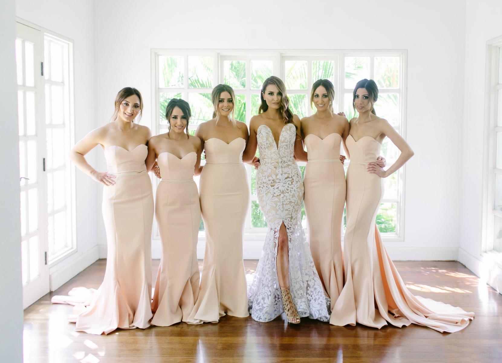 Vestidos para damas de honor gdl