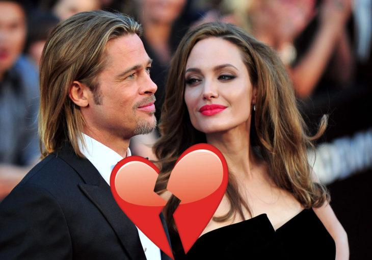 Brad pitt y Angelina Jolie terminan su matrimonio