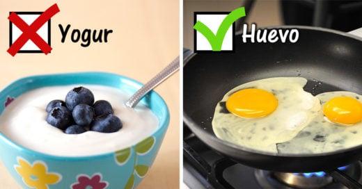 20 alimentos que si y que no puedes comer en ayunas