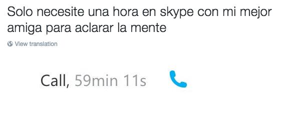 llamada de skype
