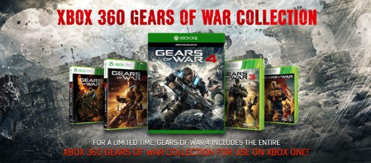gears of wars para xbox