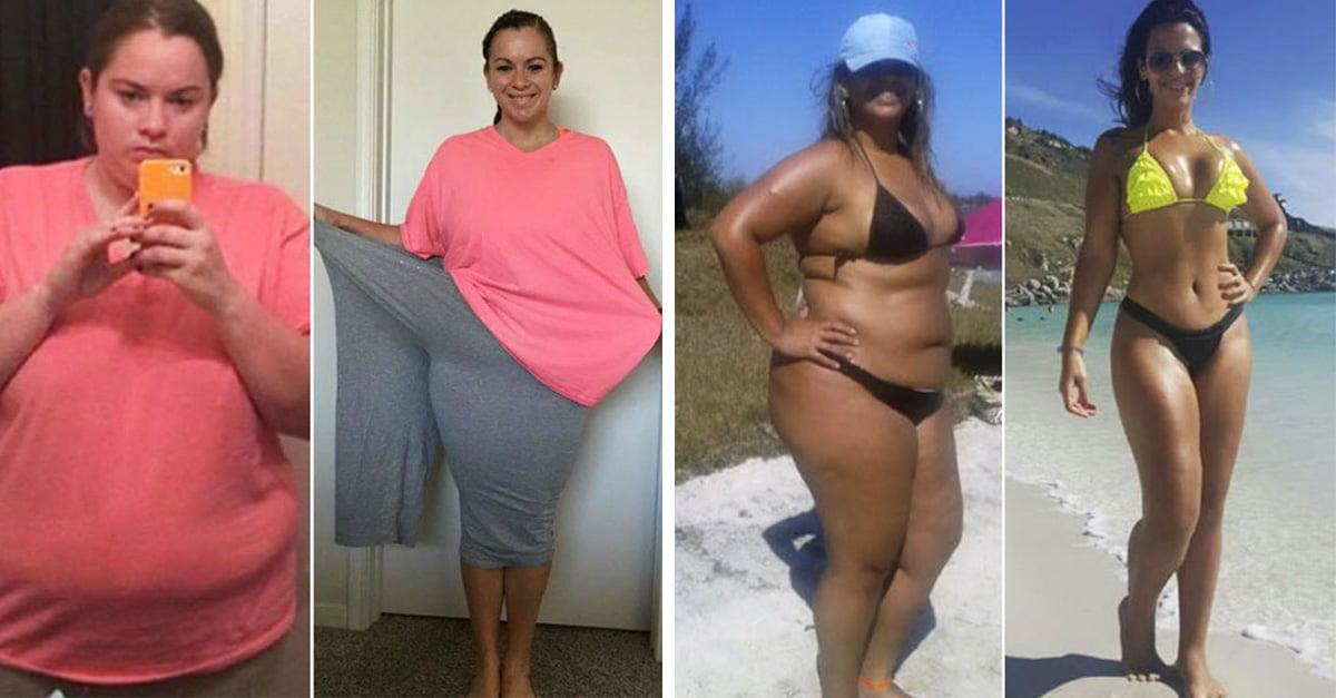 20 transformaciones de sobrepeso a fitness que te inspiran a cuidar tu cuerpo más que nunca