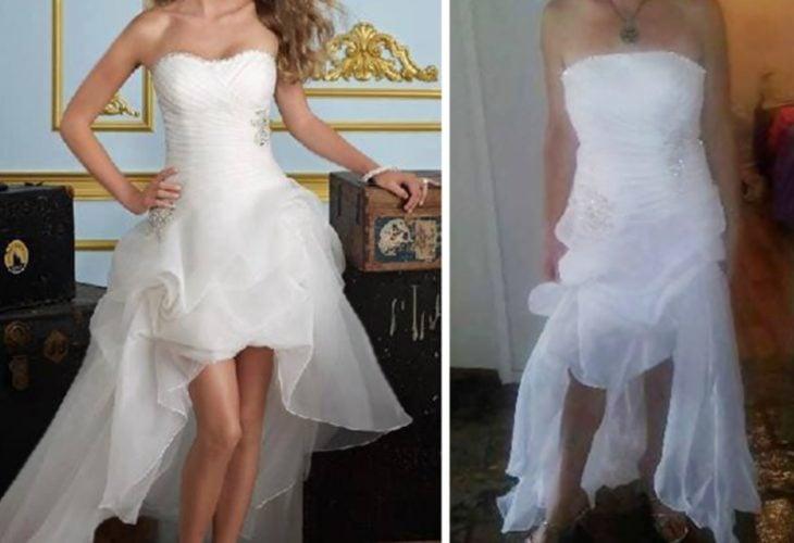 vestido de novio original