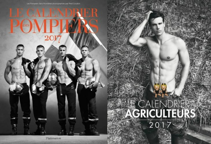 fotos de hombres semi desnudos en calendario