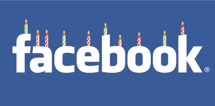 Aniversario de Facebook
