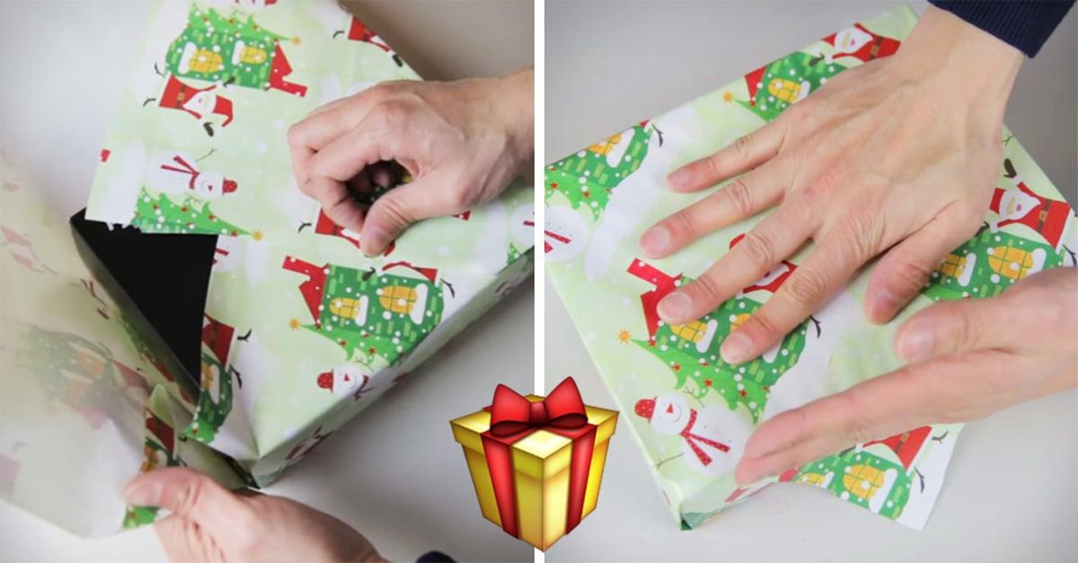 Aprende a envolver regalos sin usar listones ni cinta adhesiva con este método japonés
