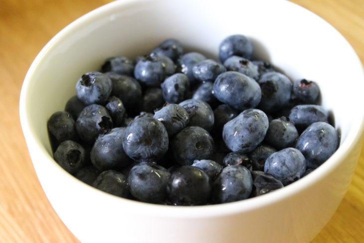 Arándanos azules