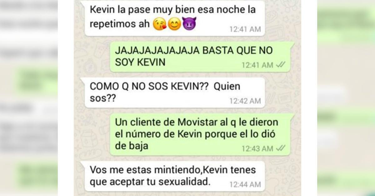 Chico cambia de número de celular; desconocidos lo contactan preguntando por Kevin y él viraliza las conversaciones