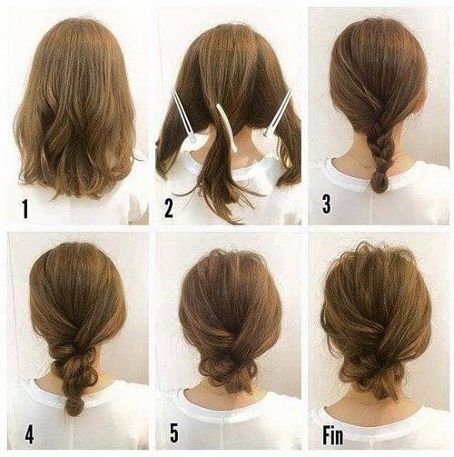 Peinados Para Melenas Cortas Good Cortes De Pelo Para Novias De - Peinados-para-melenas-cortas
