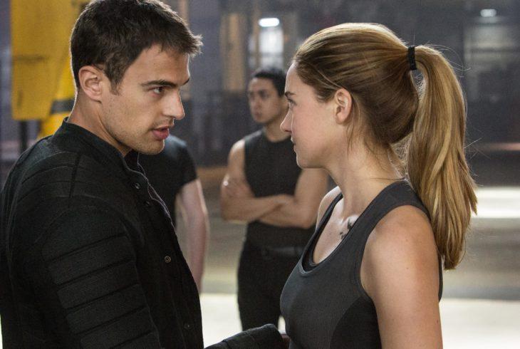 Escena de la película Divergente
