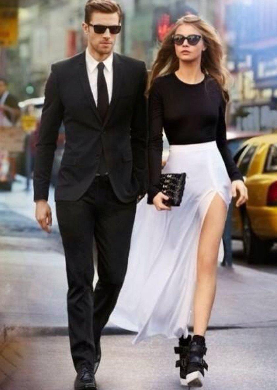 20 looks de parejas que combinaron su vestuario