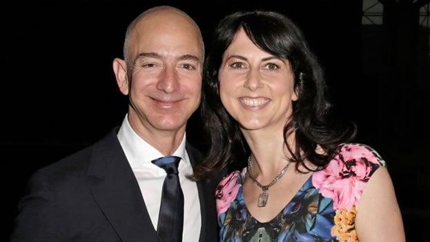 Mackenzie Bezos, esposa de Jeff Bezos