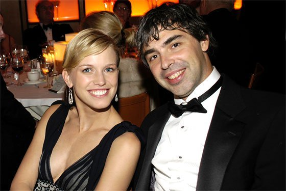 Lucinda Southworth, esposa de Larry Page
