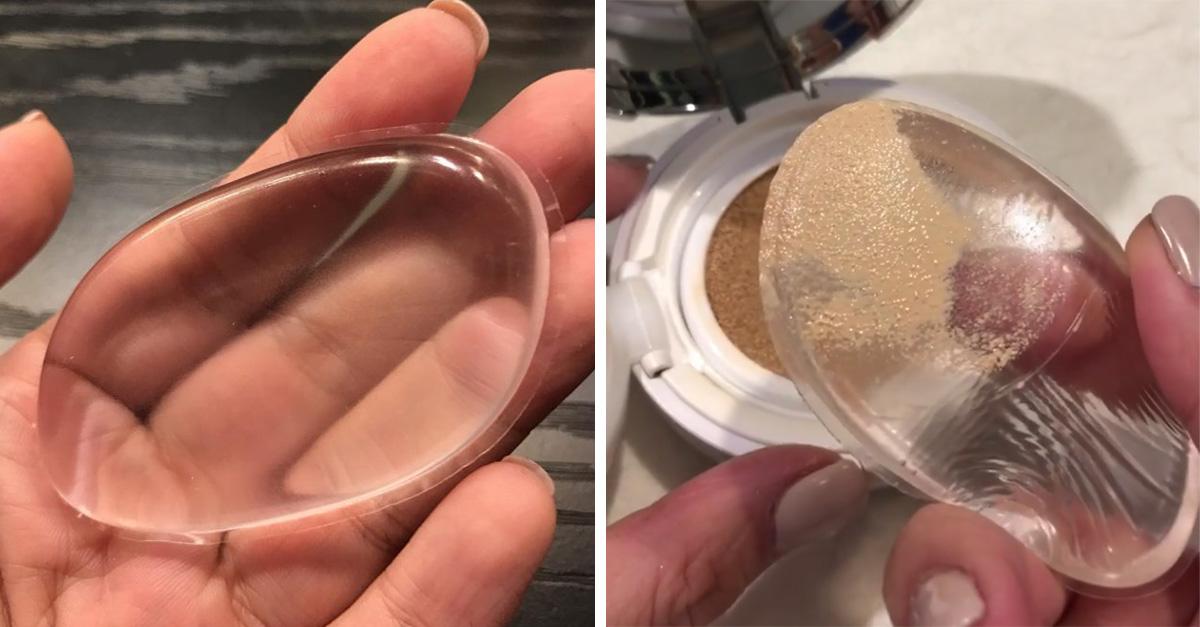 Esta esponja transparente es el mejor invento para las amantes del maquillaje