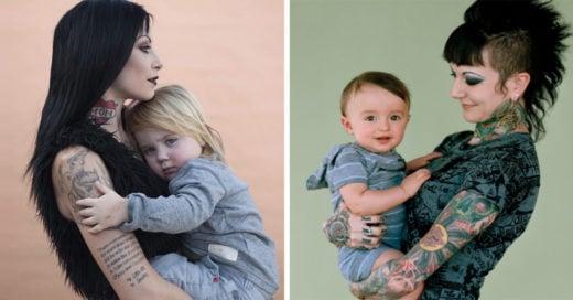 Esta fotógrafa capturó a madres modernas y sin estereotipos