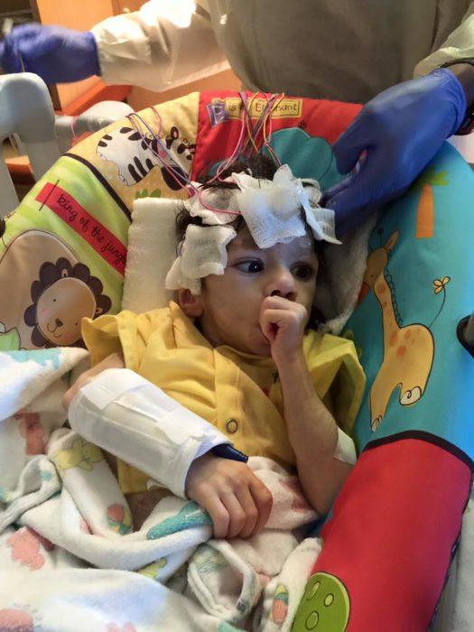 Ryan el pequeño que sufría un alto grado de desnutrición