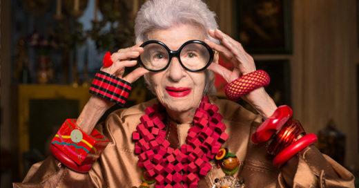 Según Iris Apfel, diseñadora de modas, vestir de acuerdo a tu edad es lo más absurdo