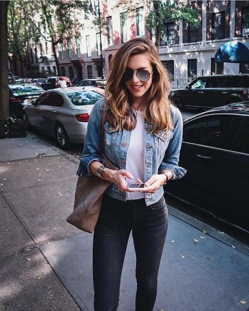 Jeans y camiseta