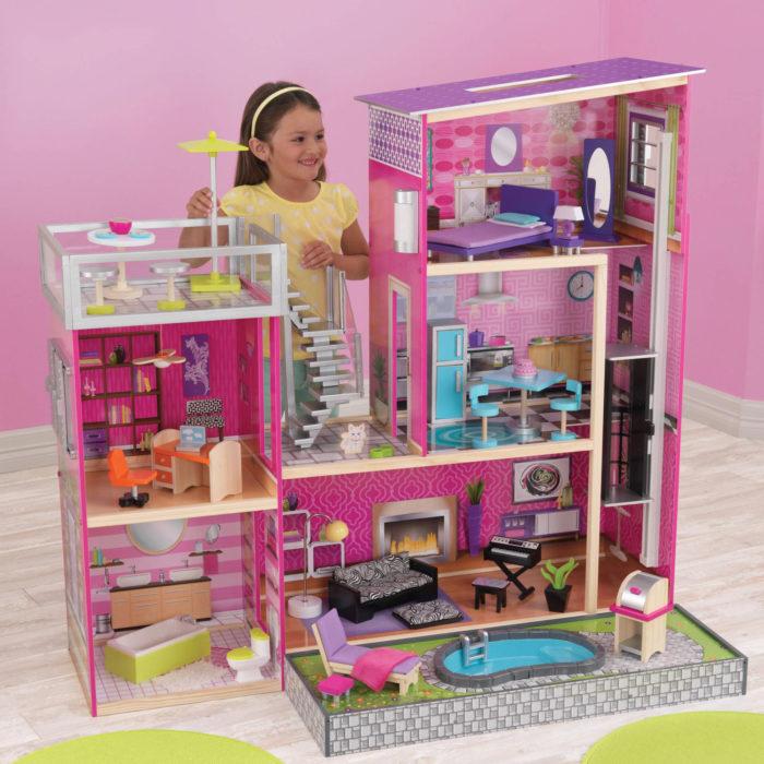 Casa para muñecas de tamaño real