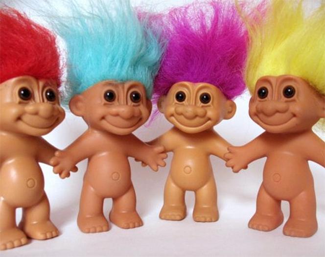 Trolls de colores