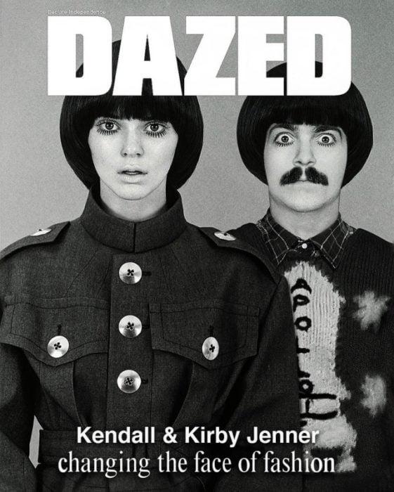 Kendall Jenner y Kirby en portada de revista