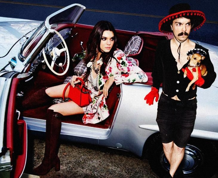 Kendall Jenner y Kirby vestidos a la mexicana