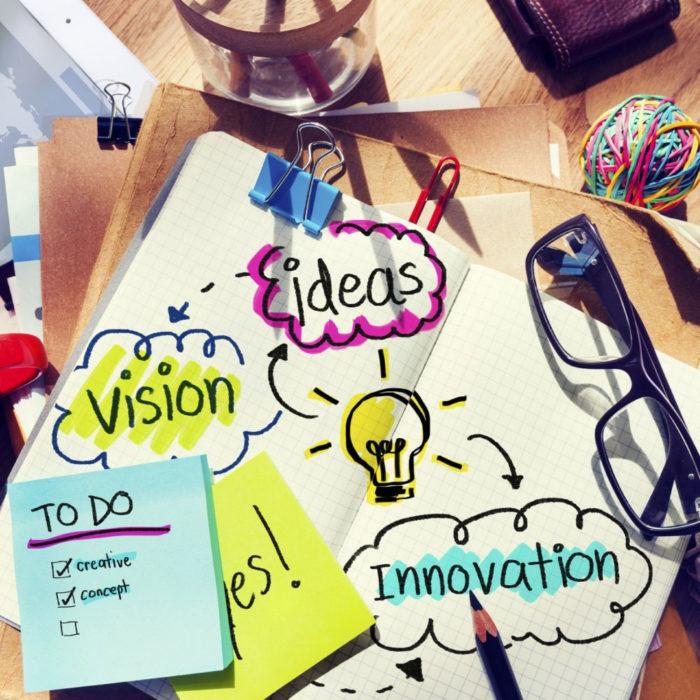 creatividad y nuevas ideas