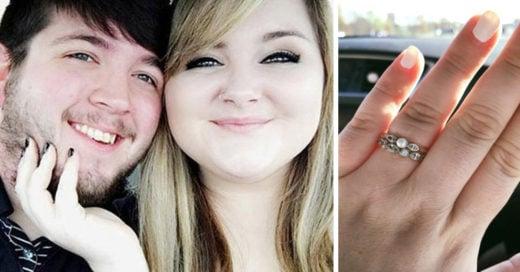 Le regalaron un anillo de compromiso barato y no te imaginas lo que paso