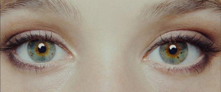 Foto ojos verdes