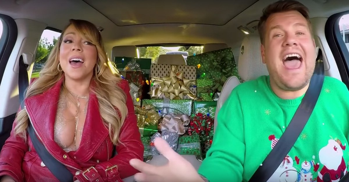 Mariah Carey protagoniza el mejor Carpool Karaoke del año con una increíble sorpresa navideña