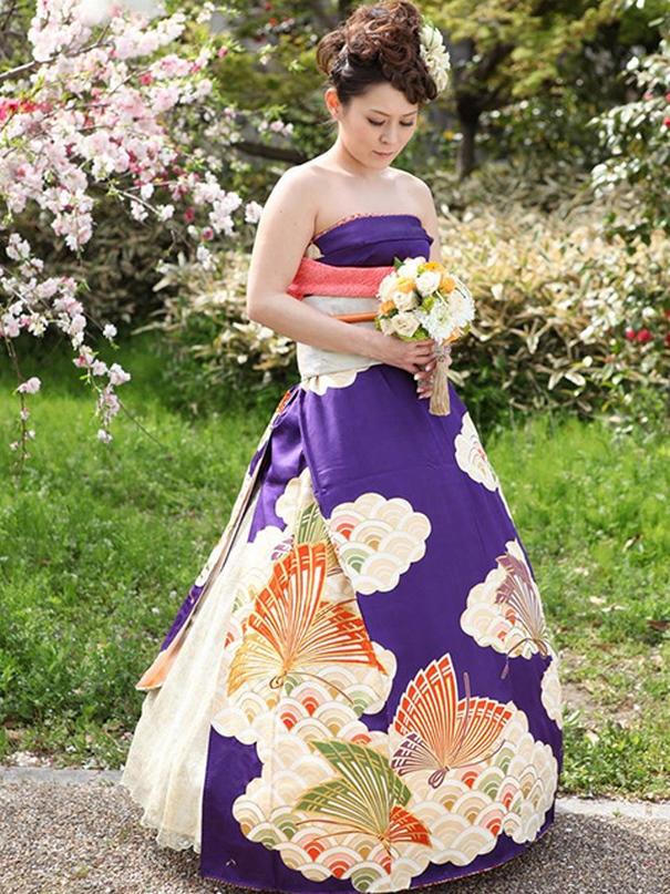 Vestido de boda japonesa